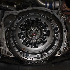 Clutch of a vehicle