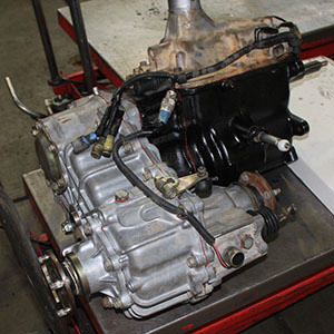 Transfer case of a vehicle